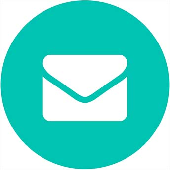 Icon of envelope.