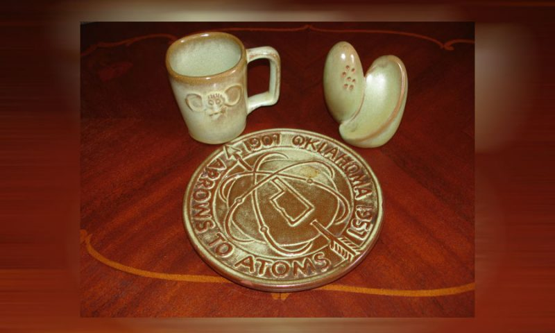 Collectible Frankoma pottery.